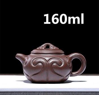 Teteras Teapot China Chinese Tea Pot Zisha Teapot Yixing Beautiful Set 160ml Top Selling Famous Handmade Pots Safe Packaging
