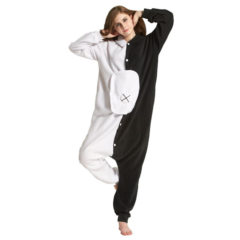 Image 4 - Adults kigurumi Animal Pajamas Women Sleepwear  All in One Pyjama Animal Suits Cosplay unicorn Stitch Garments Cartoon Pijama