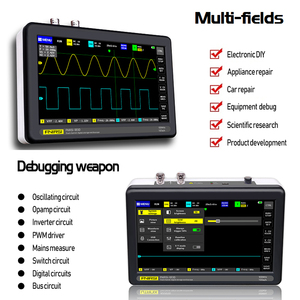 Image 3 - ADS1013D Oscilloscope 2 Channels 100MHz Band Width 1GSa/s Sampling Rate Oscilloscope with 7 Inch Color TFT LCD Touching Screen