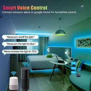 5M RGB LED Strip Lights Set WiFi APP Music Sync Control 5050 Smart LED Tape Lights 10M Work For Alexa Google Echo for Bar Home