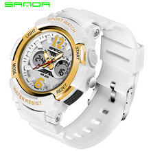 цена New Fashion Digital Women Watch Waterproof Led Backlight Multifunction Wrist Watch DialLadies Watches Relogio Feminino 2020 онлайн в 2017 году