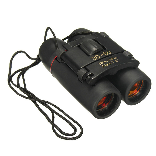Portable Mini 30x60 Day and Night Camping Travel Vision Spotting Scope 126m/1000m Optical Binoculars Telescope