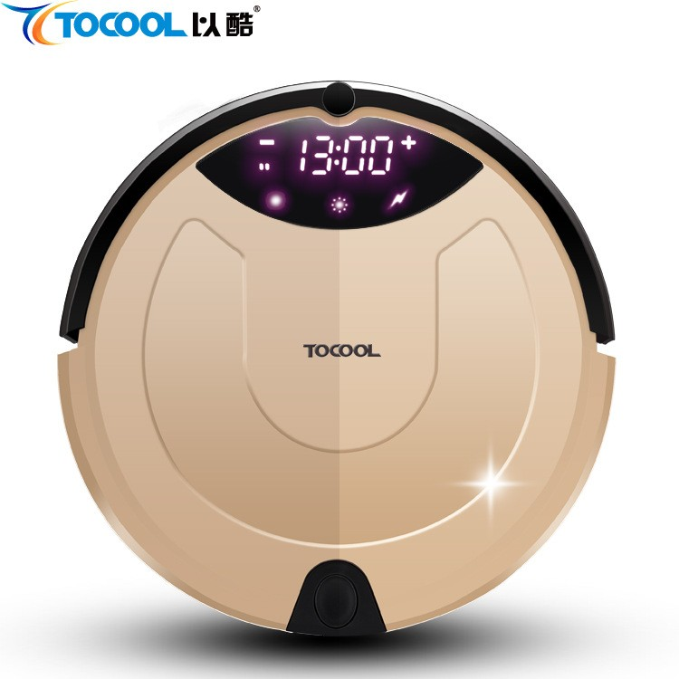 Intelligent Vacuum Sweeping Robot With Cool TC-650 Ultra-silent Slim Dual Medium Sweep Automatic Refilling