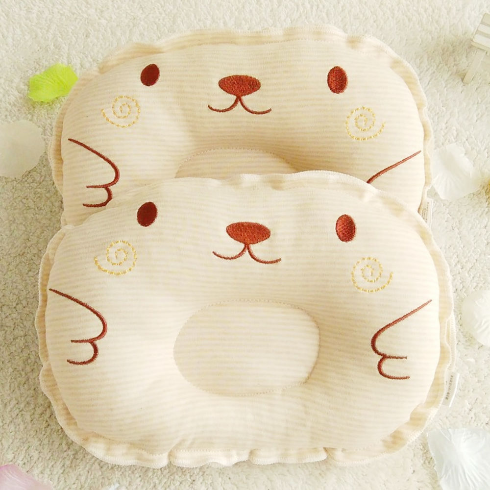 Newest Newborn Toddler Infant Baby Anti Roll Sleep Pillow Babies Positioner Prevent Flat Head Cushion Lovely Cute Pillows
