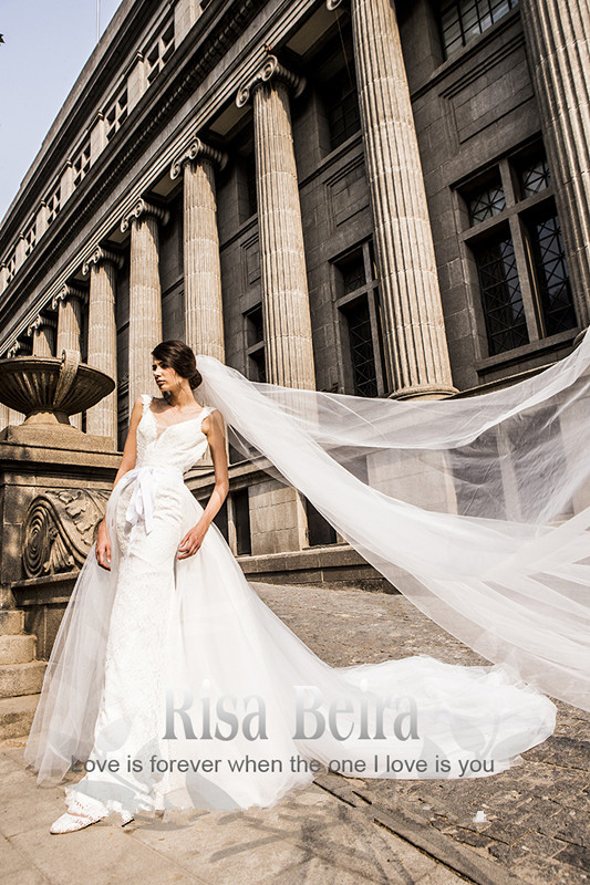 Sexy Backless Lace 2018 Detachable Train Vestido De Noiva Casamento Bridal Gown Robe De Mariee Mother Of The Bride Dresses