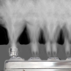 4 Head Ultrasonic Mist Maker Fogger Stainless Steel Humidifier Aeromist Hydroponics Nebulizer Water Fountain Pond Atomizer