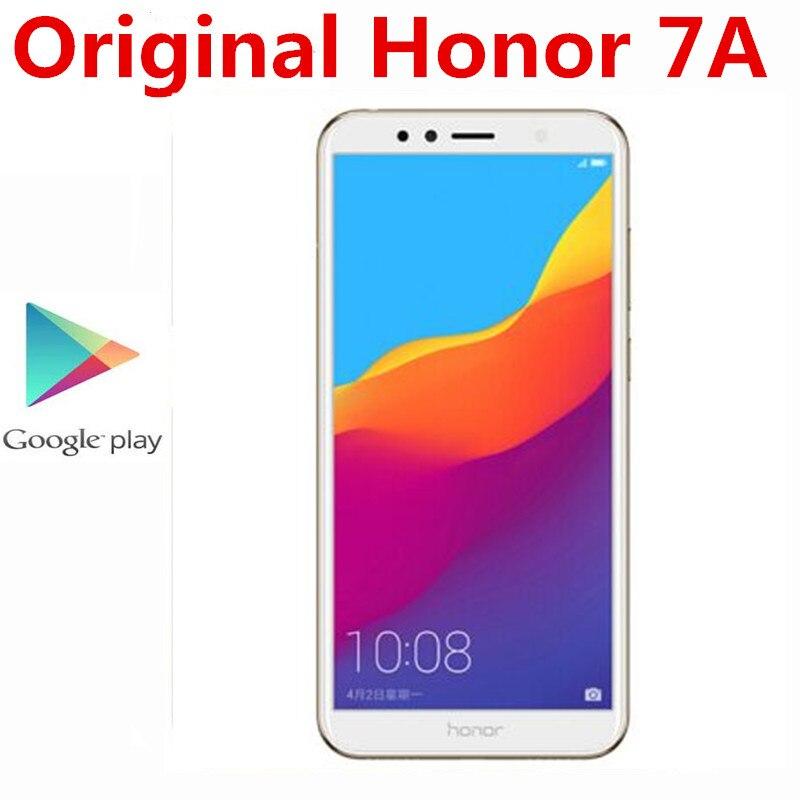 Honra original 7a 4g lte telefone móvel 3gb ram 32gb rom 13.0mp + 8.0mp 2.0mp 5.7