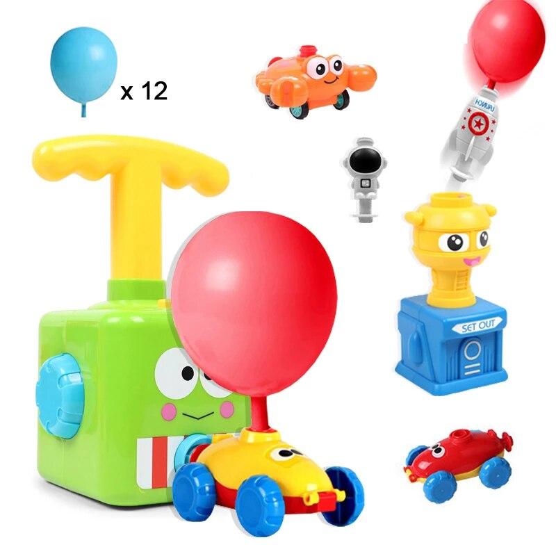 Мощность шар старт автомобиля башня Игрушка Головоломка удовольствие от образования инерции воздуха Мощность шар автомобиль игрушка для н...
