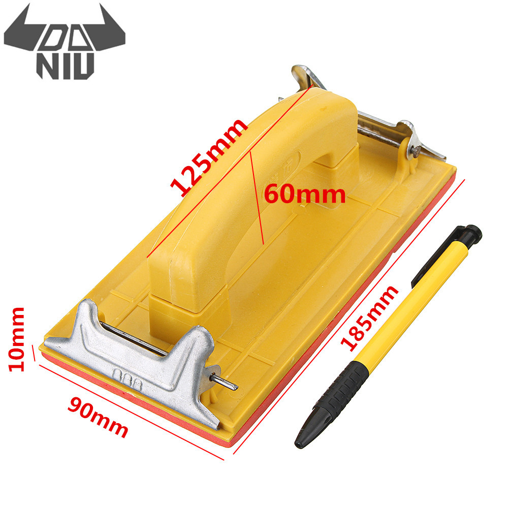 DANIU Sandpaper Frame Sandpaper Clip Hand Handle Woodworking Paint Tool For Polishing Tools