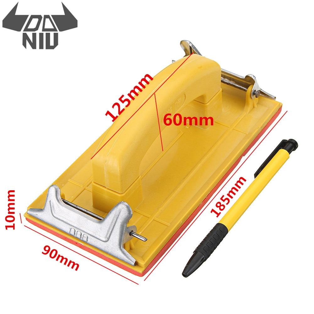 DANIU Sandpaper Frame Sandpaper Clip Hand Handle Woodworking Paint Tool For Polishing Tools