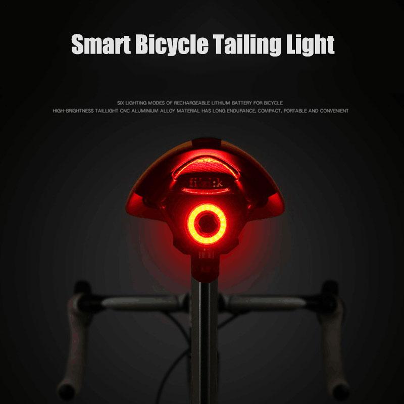 Bicycle Rear Light USB Charge Led Multi Lighting Modes Flash Bike Tail Lights