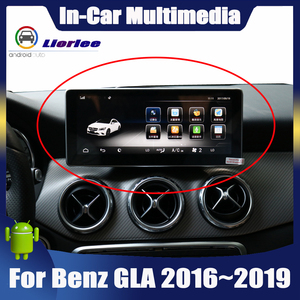 Image 1 - Ekran dotykowy android samochodowy odtwarzacz multimedialny dla Mercedes Benz GLA klasa X156 2016 ~ 2019 wyświetlacz Stereo nawigacja gps