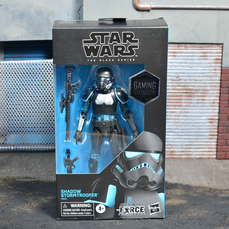 6 inch Hasbro star wars Blackhole Stormtrooper Black box anime action & toy figures model toys for children with box