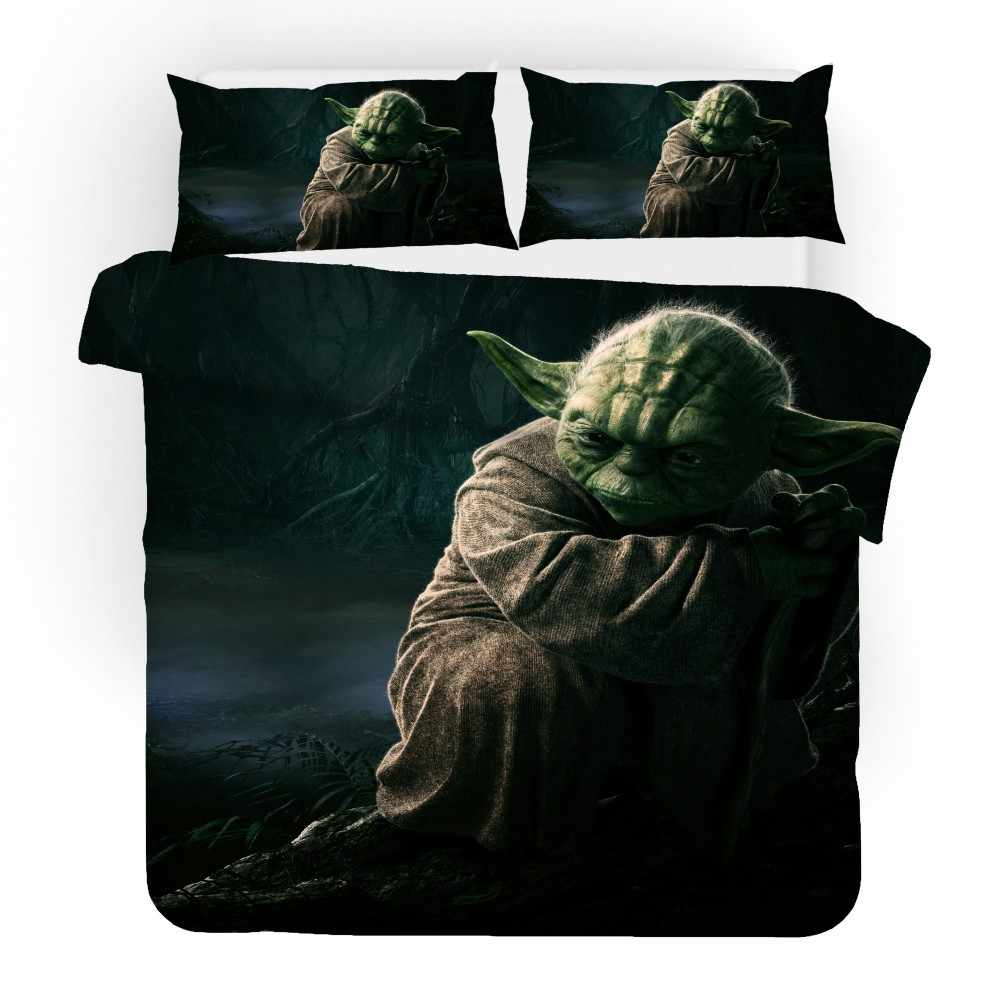 Star Wars Bed Linen Set Movies Character 3d Print Duvet Cover Set Full Queen King Single Double High Quality Microfiber Bedding