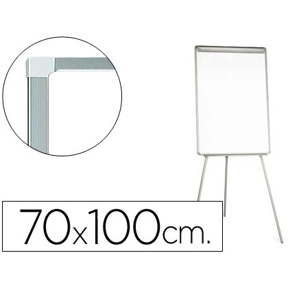 SLATE WHITE Q-CONNECT WITH TRIPODE 70X100 CM FOR CONVENTION LAMINATED SURFACE DIRECT WRITING