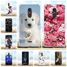For Alcatel 3C Cover Ultra-thin Soft TPU Silicone For Alcatel 3C Phone Case Cute Animal Patterned For Alcatel 3C Funda Bumper цена в Москве и Питере