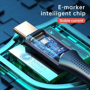 Image 3 - Mcdodo PD 100W USB typ C na USB C kabel 5A szybki kabel ładujący do Samsung S10 Macbook Notebook telefon ładowarka kabel do transmisji danych