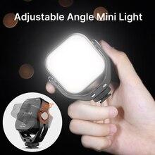 Ulanzi مصباح فيديو LED صغير ، مصباح حشو Vlog ، 2000 مللي أمبير ، لكاميرا SONY Canon ، الهاتف الذكي ، DSLR ، VL66