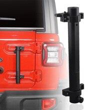 Für Jeep Wrangler Zubehör Heckklappe Scharnier Flagge Pole Antenne Montage Halterung Fahnenstange Halter für Wrangler JL JK