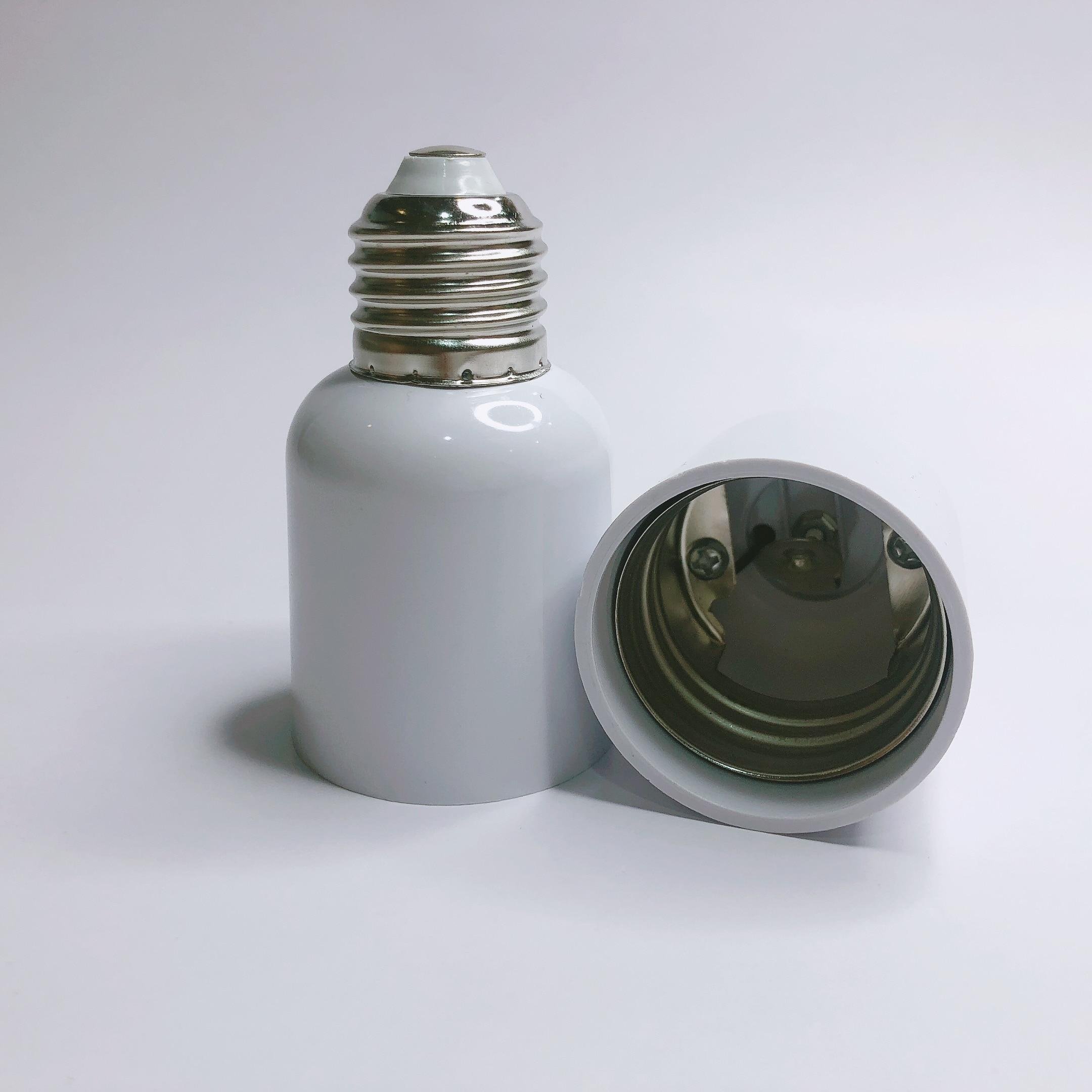 E27 To E40 Accessories Led Socket Heat Resistant Adapter Lightweight Home Bulb Screw Base Lamp Holder Converter