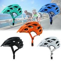 Ultraleve ajustável ciclismo capacete respirável mountain bike equitação capacete casco ciclismo integralmente-mold capacetes de bicicleta
