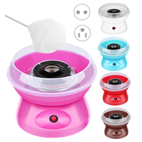 Junejour Mini Electric Cotton Candy Maker Portable DIY Sugar Machine FlossProcessors For Kids Gift