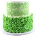 Molde de flores de azúcar grande hermoso detalle pastel lateral molde de silicona perfecto tradicional pastel de boda herramientas de decoración