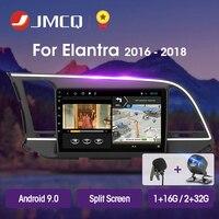 JMCQ T3L PLUS For Hyundai Elantra 6 2016 2018 Car Radio Multimedia Video Player Navigation GPS Android 9.0 2din 2 din Head Unit