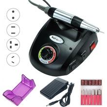 35000/20000 RPM elektryczna wiertarka do paznokci zestaw urządzeń frez Manicure Pedicure taśmy szlifierskie zestaw zmywacz żelu do paznokci sprzęt