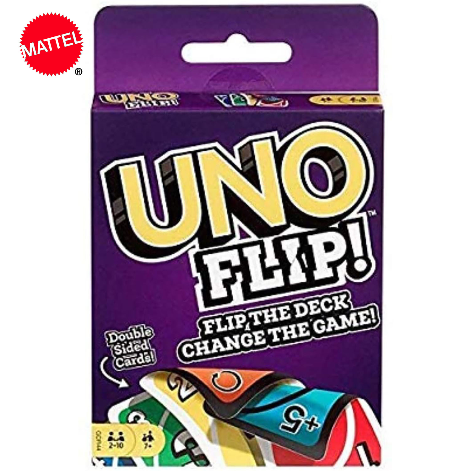 Topsale Puzzle Games Mattel Genuine UNO: Flip! Family Funny Entertainment Board Game Fun Poker Playing Cards Gift Box