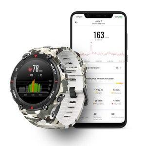 Image 4 - Amazfit T rex T rex Smartwatch 5ATM 14 Sport Modi Smart Uhr GPS 20 Tage Batterie Bluetooth 5,0