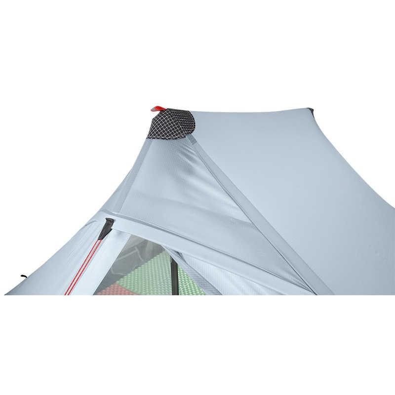 3F UL GEAR LanShan 2 pro 2 osoba Outdoor Ultralight namiot kempingowy 3 sezon profesjonalny 20D Nylon obie strony namiot silikonowy