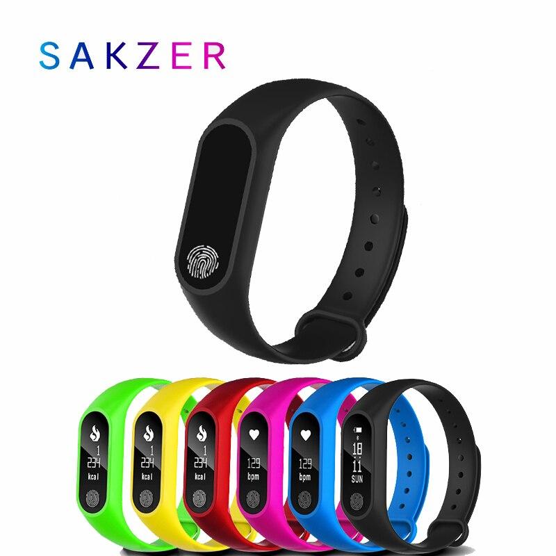 2019 mais vendido crianças relógio m2 esportes pedômetro pulseira inteligente freqüência cardíaca bluetooth 4.0 relógio inteligente pulsera inteligente