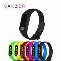 2019 reloj inteligente para niños M2 podómetro deportivo Pulsera inteligente con ritmo cardíaco Bluetooth 4,0 reloj inteligente