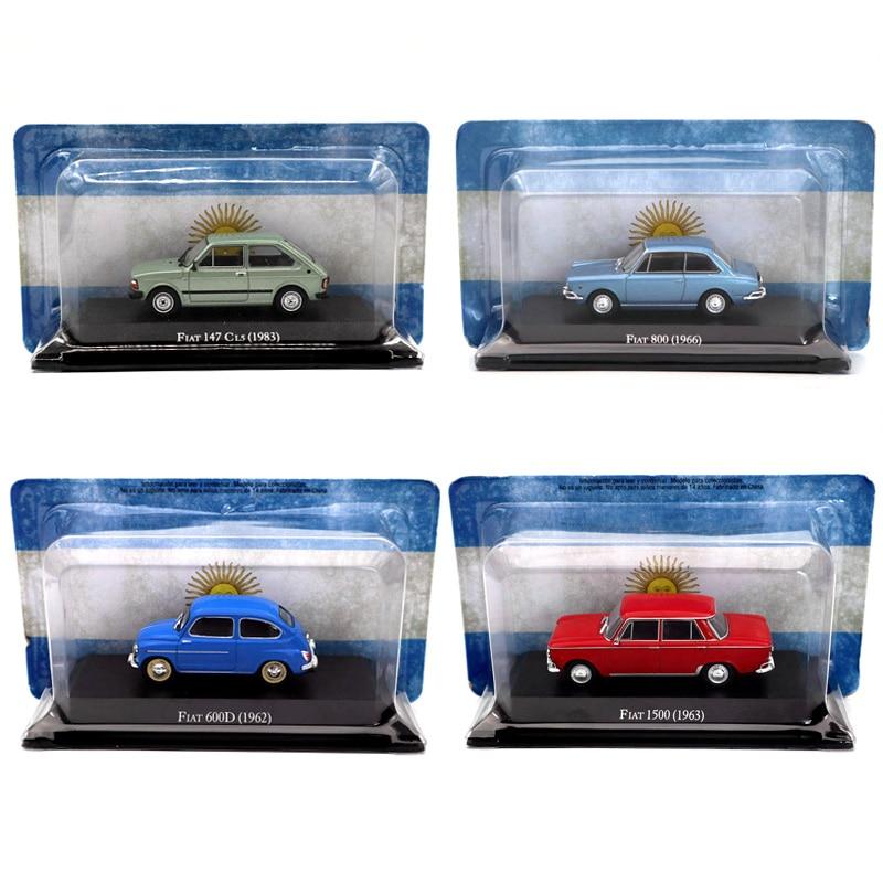 Altaya IXO 1/43 Fiat IAVA Tipo Europa Elba Premio Punto Fiorino Correios Diecast Models Miniature Toys Car Collection