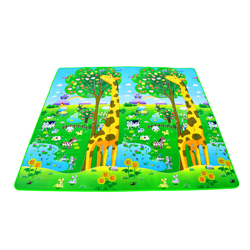 H6084b1ed4d644038af50105077e43b0fr 0.5cm Thickness Children's Rug Baby Playing Mats Soft EVA Foam Double Side Patterns Child Carpets For Kids Crawling Gym Mats
