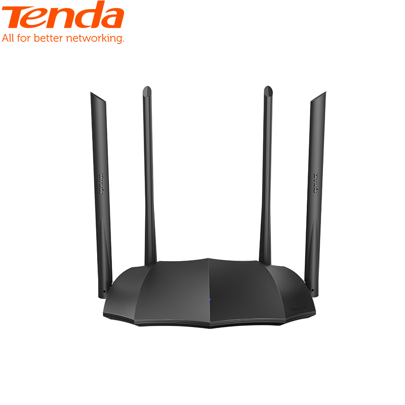 <font><b>Tenda</b></font> AC8 AC1200M Wireless WiFi Router Support IPV6 Home Coverage Dual Band Wireless Router,App Control image