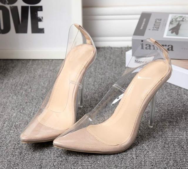 Shoes Heels High Female Heel Fine Party