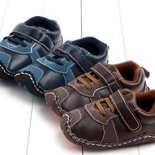 SandQ/обувь для мальчика; обувь для новорожденных; детская кроватка для грудничков; нескользящая Мягкая подошва; удобная обувь с круглым носком