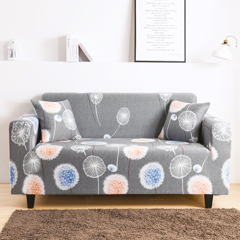 Modern Elastic All-Inclusive Small Fresh Floral Sofa Cover For Living Room And Bedroom Furniture Protection Cover 1234 Seats