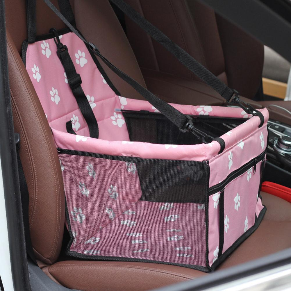 Dog Mat Basket Breathable Waterproof Cage Booster Car Seat Pet Carrier Protector For Dogs Cats Transportin Pet Basket Waterproof