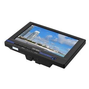 """FEELWORLD FW639AH 7 """"TFT LCD HD монитор с HDMI VGA AV входом для видео DSLR камеры с автомобильным адаптером пульт дистанционного управления солнцезащитный козырек"""