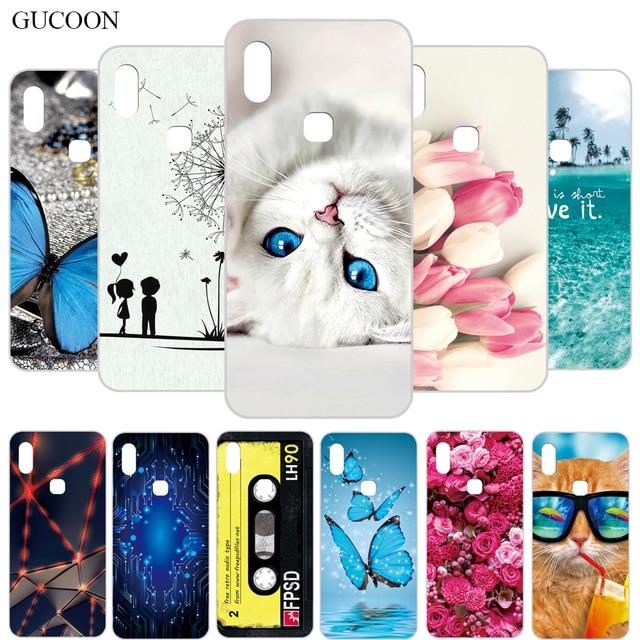 Gucoon Siliconen Cover Voor Leagoo M13 M11 Z10 Case Soft Tpu Beschermende Phone Case Cartoon Wolf Rose Bloemen Bumper shel