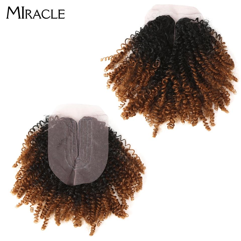 Miracle ombre cabelo sintético curto onda afro