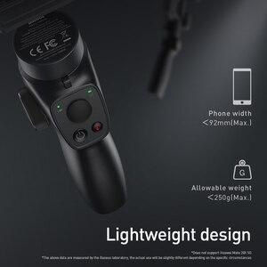 Image 5 - Baseus 3 osi bezprzewodowy Bluetooth ręczny Gimbal stabilizator telefonu dla iPhone Huawei statyw stabilizator Gimbal Gimal smartfon
