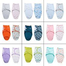 Baby Swaddle Cotton 0-2 months Cocoon Shape Infants Sleeping Bag
