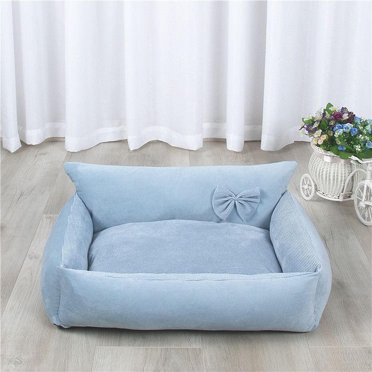 Dog Bed Warm Soft Pet Cushion For Dog Best Pet House Cat Calming Bed New Dog Bed Washable Pet Sofa Mat Dog sleeping bag 12