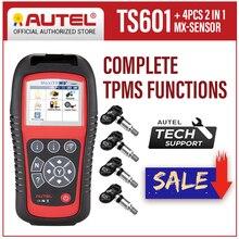AUTEL MaxiTPMS TS601 TPMS 진단 도구 OBD2 스캐너 자동 코드 리더 TPMS 활성화 프로그래밍 도구 타이어 압력 activator
