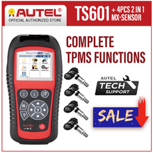 AUTEL MaxiTPMS TS601 TPMS أداة تشخيص OBD2 الماسح الضوئي قارئ رمز السيارات TPMS تفعيل أداة البرمجة منشط ضغط الإطارات