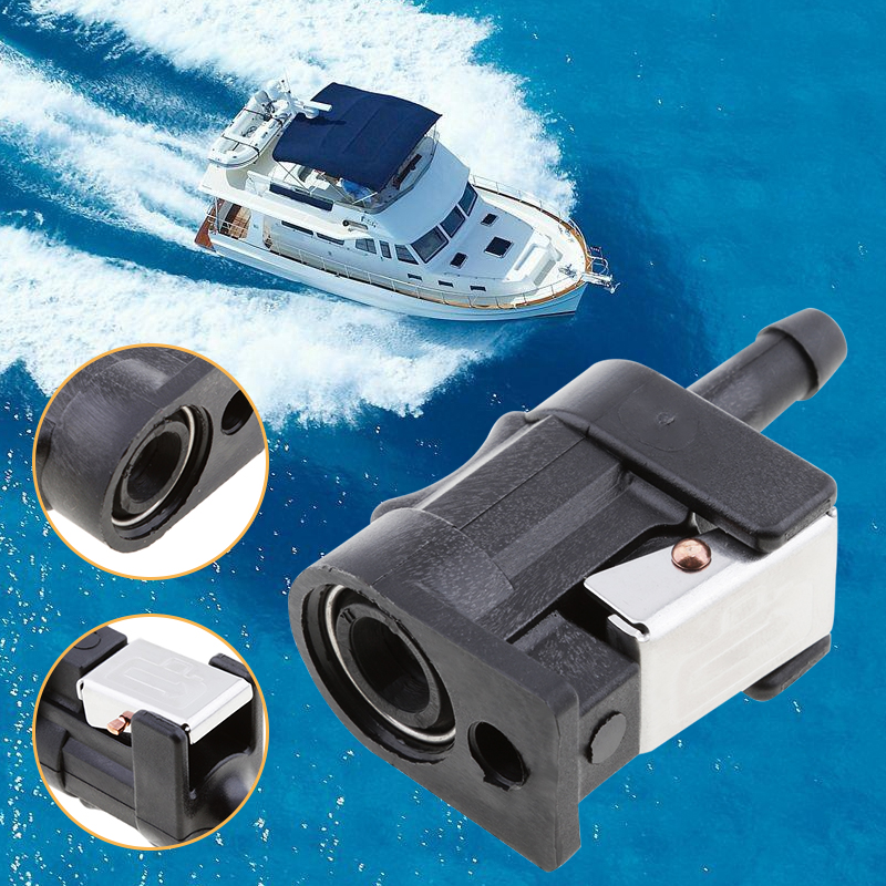 Boat Fuel Hose / Line Connector 6mm Female For Yamaha Outboard Motor Fuel Pipe Replace 6Y1-24305-06-00 Boat Accessories Marine